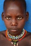 Junger Hamer-Junge in Süd-Omo, Äthiopien Stockfoto