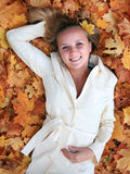 Junger Herbst Stockfotografie