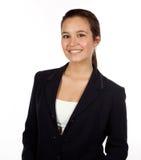Junger hispanischer weiblicher Fachmann stockfotos