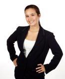Junger hispanischer weiblicher Fachmann Lizenzfreie Stockfotos