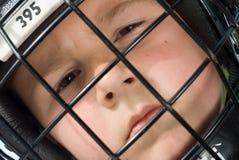 Junger Hockeyspieler lizenzfreie stockbilder