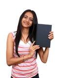 Junger indischer Kursteilnehmer. Lizenzfreie Stockfotografie