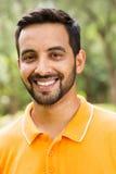Junger indischer Mann Stockfotografie