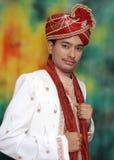 Junger indischer Prinz Stockfotografie