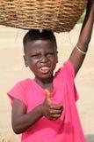 Junger Junge in Afrika Stockfotos