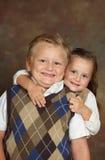 Junger Junge und Mädchen Lizenzfreies Stockbild