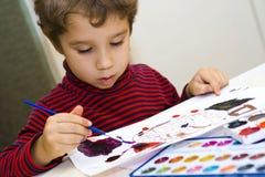 Junger Künstler Stockbild