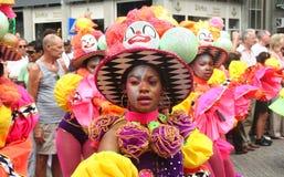 Junger Karnevals-Tänzer Stockbilder