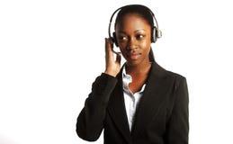 Junger Kundendienst lizenzfreie stockfotos