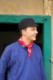 Junger Landwirt. stockfotos