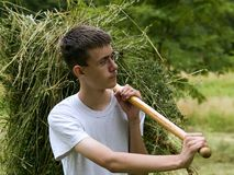 Junger Landwirt 2 Lizenzfreie Stockfotografie