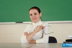 Junger Lehrer stockfotografie