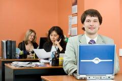 Junger Manager lizenzfreies stockfoto