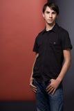 Junger Mann. lizenzfreie stockfotos