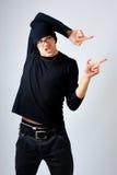 Junger Mann breakdancer lizenzfreies stockbild