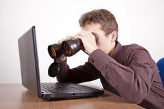 Suchen wie ein Chef Stockfotos