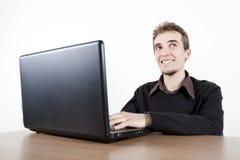 Den Chef glücklich herstellen Lizenzfreie Stockfotos