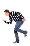 Junger Mann in einer Stellung Lizenzfreies Stockfoto
