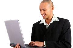 Junger Mann-Funktion Lizenzfreies Stockfoto