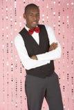 Junger Mann gekleidet in der Klage Lizenzfreie Stockbilder