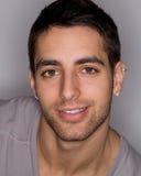Junger Mann Headshot Stockbild