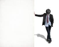 Junger Mann im Hut Stockfotografie