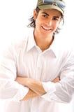 Junger Mann im Studio Lizenzfreie Stockfotografie