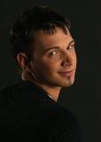 Junger Mann mit Augenbrauedurchdringen Stockbilder