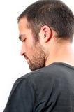 Junger Mann mit kleinem Bart Lizenzfreies Stockbild