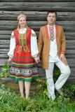 Junger Mann und Frau. Stockbilder