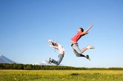 Junger Mann und Frau Lizenzfreies Stockfoto