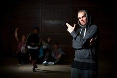 Junger Mann und Tänzer Lizenzfreie Stockfotografie