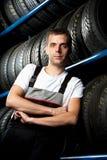 Junger Mechaniker Lizenzfreie Stockbilder