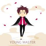 Junger Meister vektor abbildung