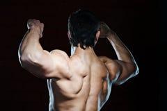 Junger muskulöser Mann Stockbilder