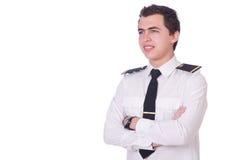 Junger Pilot Stockbilder