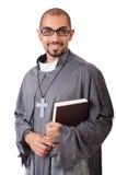 Junger Priester stockfotos