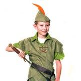Junger Robin Hood lizenzfreies stockbild