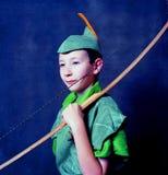 Junger Robin Hood stockbilder