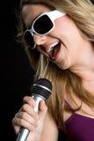 Junger Sänger Stockfotos