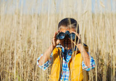 Junger Safarijunge Stockfotografie