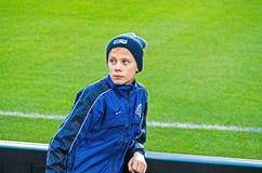 Junger Schüler von FC Dnipro Lizenzfreies Stockfoto