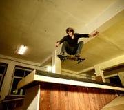 Junger Schlittschuhläufer Lizenzfreie Stockbilder