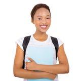 Junger schwarzer Student stockbilder