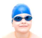 Junger Schwimmer. lizenzfreies stockbild
