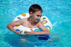 Junger Schwimmer Lizenzfreie Stockfotografie