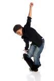 Junger Skateboardfahrer Lizenzfreies Stockfoto