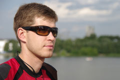 Junger Sportler Lizenzfreie Stockfotografie