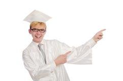 Junger Student lokalisiert Lizenzfreie Stockfotografie