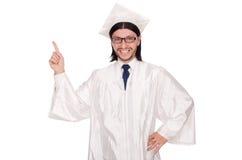 Junger Student lokalisiert Stockfoto